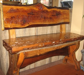Reclaimed Creations - handmade bench
